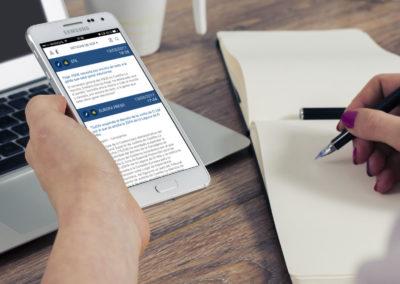 App iPhone y Android Gabinete Prensa JCCM Castilla La Mancha