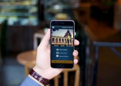 App iPhone y Android Audioguía Albacete