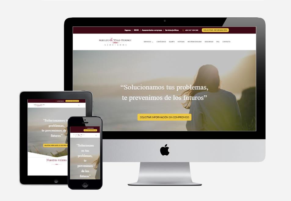 pagina-web-albeldo-asesores