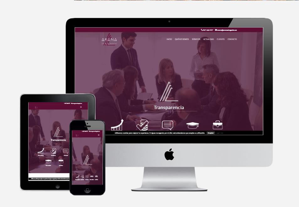 pagina-web-bufete-arana-abogados-albacete