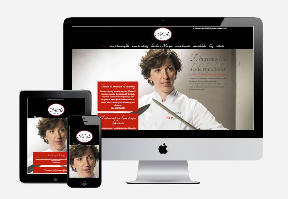 pagina-web-catering-marlo
