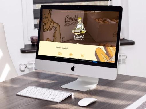 Página web Panadería Dulces Conchi