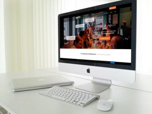 Página web apps fidelización Unicapps Albacete