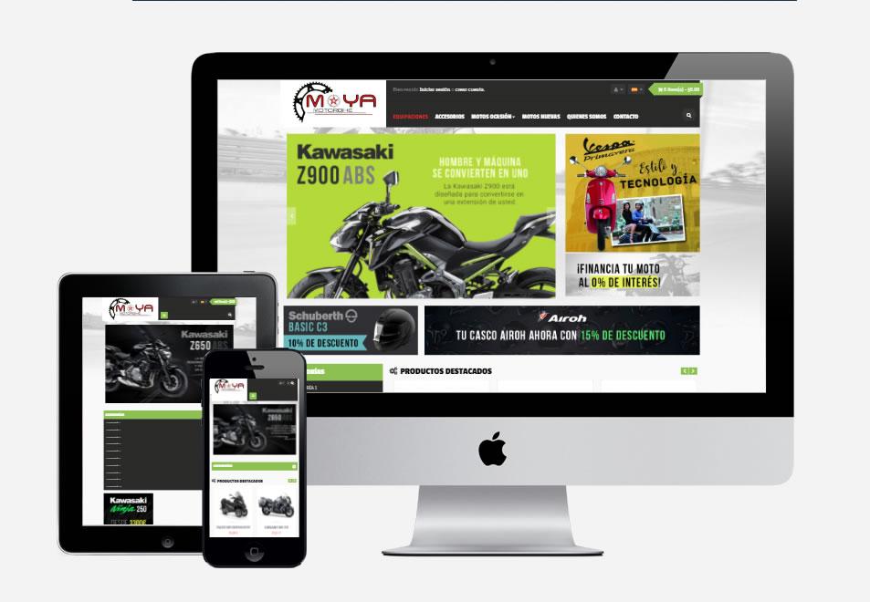 b33e9c9876f Tienda Online ropa y accesorios Motos Moya Albacete - Estudio Alfa