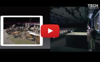 APPLE Lanza ARKit, una herramienta para Apps de Realidad Aumentada