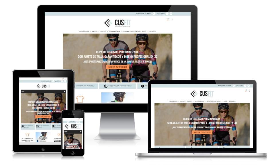 tienda online ropa personalizada CUSFIT